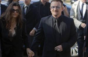 Bono et les membres de U2 aux obsèques de Seamus Heaney, unis dans le chagrin