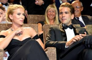 Scarlett Johansson et Romain Dauriac : En amoureux à la Mostra