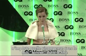 Emma Watson : Son look très déroutant devant la légende Michael Douglas