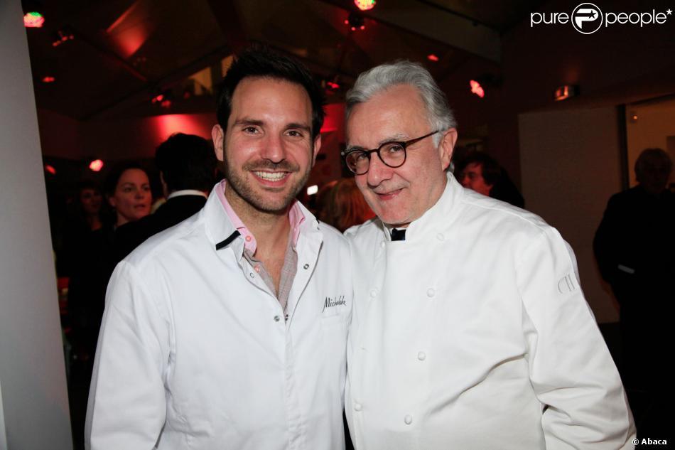 Christophe michalak et alain ducasse la 2e dition de tous en cuisine avec l 39 ecole alain - Cours de cuisine christophe michalak ...