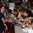 Rebecca Hall lors de la présentation du film Une promesse lors de la Mostra de Venise le 4 septembre 2013