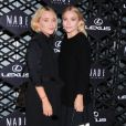 Mary-Kate Olsen et Ashley Olsen assistent à la soirée Lexus Design Disrupted au SIR Stage 37. New York, le 5 septembre 2013.