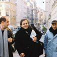 Didier Bourdon, Bernard Campan et Pascal Légitimus à Paris en 2001