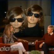 Céline Dion et ses jumeaux aux cheveux longs : ''L'école veut que je les coupe''
