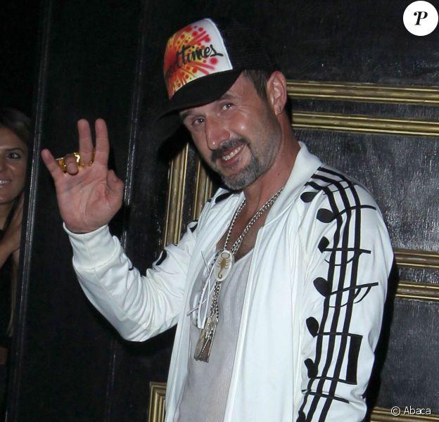 David Arquette a fêté ses 42 ans au club Bootsy Bellows à West Hollywood, le 7 septembre 2013.