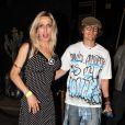 Alexis Arquette, soeur de David Arquette à l'anniversaire de son frère à Los Angeles, le 7 septembre 2013.