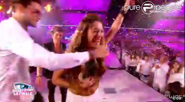Anaïs remporte la finale - Finale de Secret Story 7. Le 13 septembre 2013.