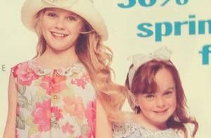 Lindsay Lohan et Kirsten Dunst : Adorables copines pour une pub des années 1990