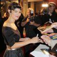 Audrey Tautou à la première du film L'écume des jours à Berlin, le 17 septembre 2013.