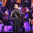 Elodie Frégé au concert des Francofolies hommage à Edith Piaf, au Beacon Theatre à New York, le 19 septembre 2013.