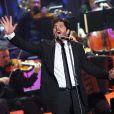 Patrick Fiori au concert des Francofolies hommage à Edith Piaf, au Beacon Theatre à New York, le 19 septembre 2013.