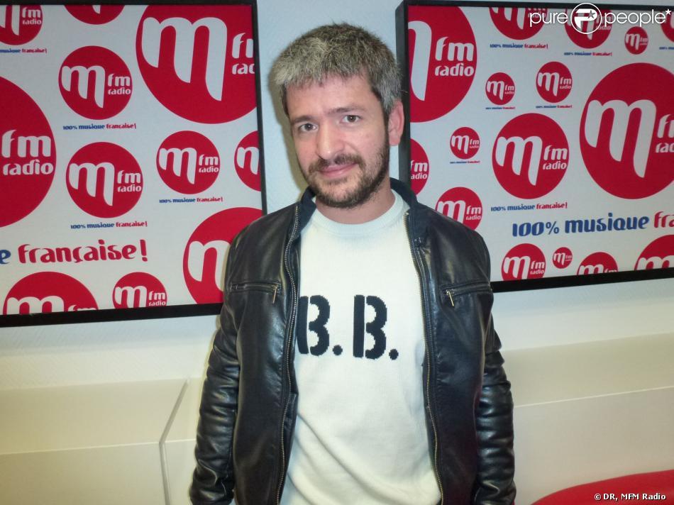 Grégoire, dans les locaux de MFM Radio.