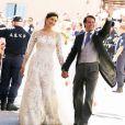 """""""Le magnifique mariage du prince Felix de Luxembourg et la princesse Claire en la basilique Sainte Marie-Madeleine de Saint-Maximin-La-Sainte-Baume, le 21 septembre 2013."""""""