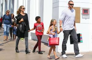 Heidi Klum : Maman rock et relax avec sa tribu en plein shopping !