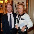 Christine Ockrent et Bernard Kouchner au 28e Gala de l'Aide à l'Enfant Réfugié, à la salle Gaveau, à Paris, le 23 septembre 2013.