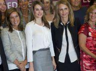 Letizia d'Espagne : Très pro et superbe, entourée de femmes modèles