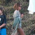Exclusif - Nicole Richie se détend à Cabo San Lucas au Mexique. Le 22 septembre 2013.