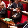 Manuel Valls à l'assemblée nationale à Paris le 4 septembre 2013.