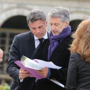 Obsèques de Gilles Verlant: Le chagrin d'Antoine de Caunes et Thomas Dutronc...