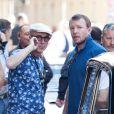 Guy Ritchie sur le tournage de son film The Man From U.N.C.L.E à Rome, le 3 octobre 2013.
