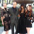 Anne V, Nigel Barker, Naomi Campbell et Lydia Hearst à New York, le 11 septembre 2013.