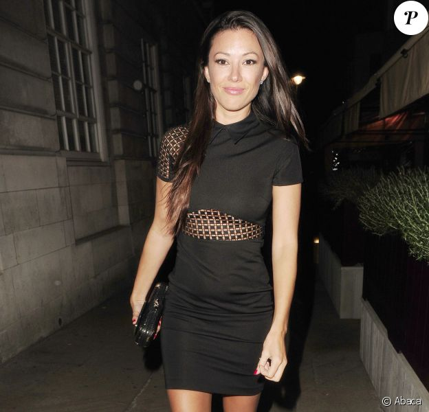 Monika Jakisic à la sortie du Loulou's, à Londres, le 26 mai 2013. George Clooney y a aussi passé la soirée...