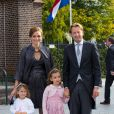 Dutch Prince Floris, Princess Aimee, Magali and Eliane attend the wedding of Prince Jaime de Bourbon de Parma in the Church Onze Lieve Vrouwe ten Hemelopneming in Apeldoorn, 5 October 2013. Photo by RPE-Albert Philip van der Werf/DPA/ABACAPRESS.COM05/10/2013 - Apeldoorn