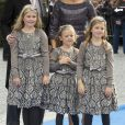 Les princesses Catharina-Amalia, Alexia et Ariane - Mariage de Jaime Bourbon-Parme avec Viktoria Cservenyak a Appeldorn aux Pays-Bas le 5 octobre 2013.  Royal wedding of prince Jaime Bourbon-Parme and Viktoria Cservenyak in Appeldorn, Netherlands, October 05th, 201305/10/2013 - Appeldorn
