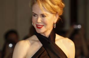 Nicole Kidman sexy : Epaules nues face à une Avril Lavigne élégante et amoureuse