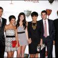 Scott Disick, Kourtney Kardashian, Kylie Jenner, Kris Jenner, Robert Kardashian Jr et Bruce Jenner à Beverly Hills, le 2 septembre 2010.