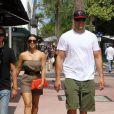 Kim Kardashian et Kris Humphries à Miami, le 13 mai 2011.