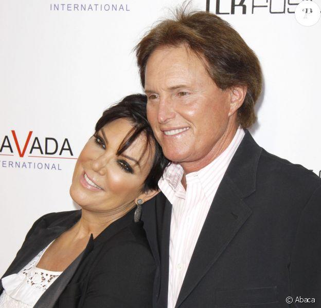 Bruce Jenner et Kris Jenner à Los Angeles, le 7 avril 2010.