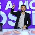 """Exclusif - Cyril Hanouna lors de l'enregistrement de l'émission """"Touche pas mon poste"""" à Paris, le 10 octobre 2013."""