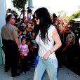 Kylie Jenner va faire du shopping chez DASH avec ses soeurs à West Hollywood, le 11 octobre 2013.