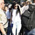 Kylie Jenner va faire du shopping chez DASH à West Hollywood, le 11 octobre 2013.
