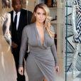 Kim Kardashian fait du shopping chez Dash à West Hollywood, le 11 octobre 2013.