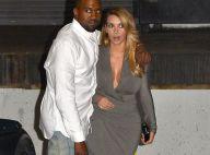 Kim Kardashian, le come-back de la bombe : Affolante au bras de Kanye West