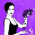 L'affiche des Vendanges dessinée par l'artiste Miss.Tic