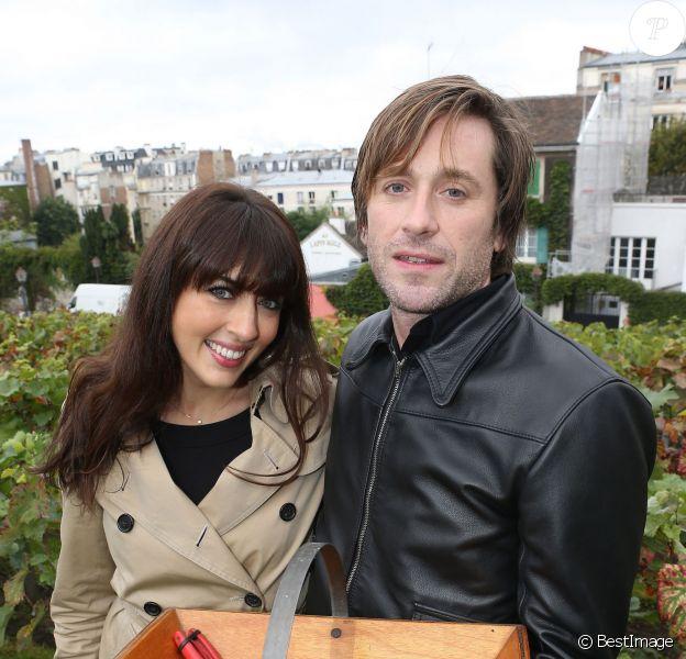 Exclusif -Thomas Dutronc et Nolwenn Leroy (parrain et marraine) - Fête des Vendanges de Montmartre 2013 (80e anniversaire) a Paris, le 12 octobre 2013.12/10/2013 - Paris