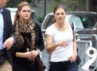 Madeleine de Suède, enceinte, et sa soeur Victoria : Des princesses à New York