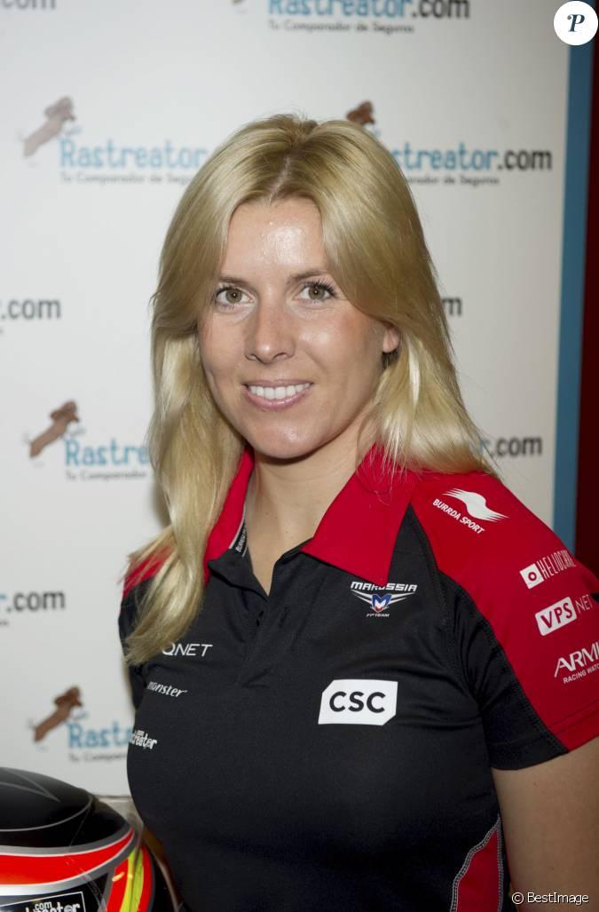 Maria de villota pilote espagnole de formule 1 d c d e for Prix d une chambre d hotel formule 1