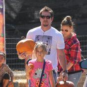 Mark Wahlberg: Papa poule pour Halloween autour d'Ali Larter et Rebecca Gayheart