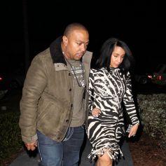 Timbaland et sa femme Monique à Miami, le 30 décembre 2010.
