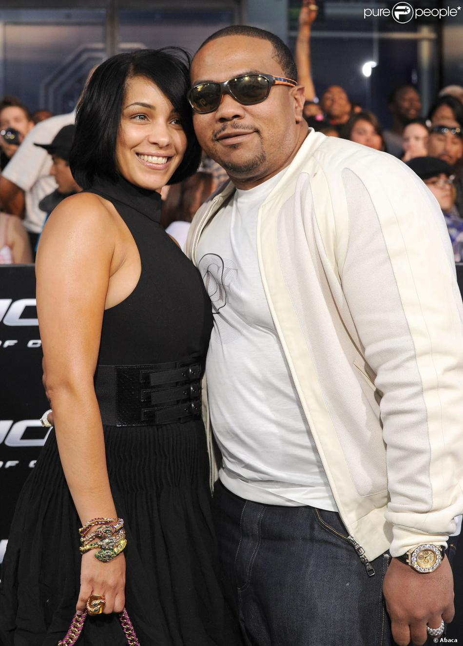 Timbaland couple