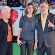 Eleanor Coppola, Sofia Coppola et Francis Ford Coppola à l'ouverture du 26e Tokyo International Film Festival le 17 octobre 2013