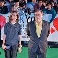 Sofia Coppola et Francis Ford Coppola à l'ouverture du 26e Tokyo International Film Festival le 17 octobre 2013
