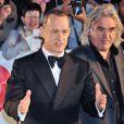 Tom Hanks et Paul Greengrass à l'ouverture du 26e Tokyo International Film Festival le 17 octobre 2013