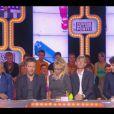"""Gérard Louvin s'explique devant Cyril Hanouna sur le plateau de """"Touche pas à mon poste"""", le 15 octobre 2013."""