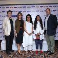 Nathalie Baye lors de la soirée d'ouverture du 17 octobre 2013 du 15e Festival du Film de Mumbai (Bombay) qui se tient en Inde jusqu'au 24 octobre 2013