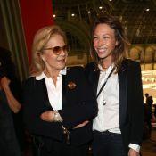 Laura Smet et Sylvie Vartan : Réunies et complices pour l'ouverture de la FIAC